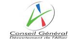 logo conseille géneral de l'allier
